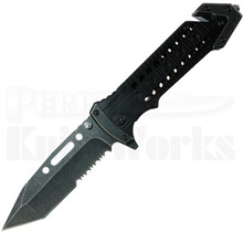 Renegade Tactical Steel Steam Punk Knife (Stonewash) RT172