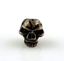 Schmuckatelli Emerson Skull Bead (Roman Brass)