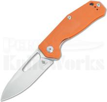 Kizer Cutlery Kesmec Orange G-10 Linerlock Knife (Satin) V4461A2