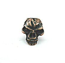 Schmuckatelli Emerson Skull Bead (Roman Copper)