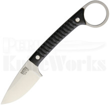 Bark River Ringtail Black Micarta Fixed Blade Knife