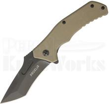 Defcon Blade Works Proelia Linerlock Flipper Knife