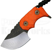 "Wander Tactical Tryceratops Orange Fixed Blade Knife (2.5"" Two Tone)"