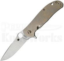 Spyderco C214TIP Advocate Flipper Knife