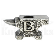 Buck Knives Pewter Anvil Bead