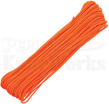 Atwood Rope Mfg. 275 Lb. 4-Strand Paracord 100 Ft. (Neon Orange)