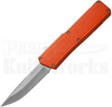 Lightning Orange D/A OTF Automatic Knife