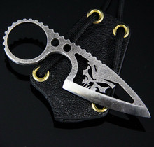 Black Dragon Forge V1 Skull Neck Knife