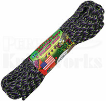 Atwood Rope Mfg. 550 Lb. 7-Strand Zombie Edition Paracord 100 Ft. Undead