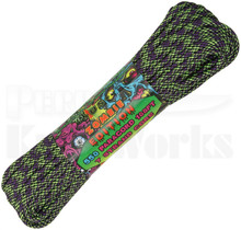 Atwood Rope Mfg. 550 Lb. 7-Strand Zombie Ed. Paracord 100 Ft. Dark Matter