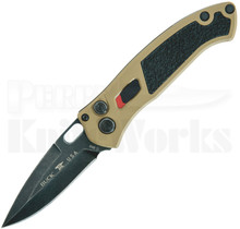 Buck Impact Automatic Knife Coyote Tan 0898BRS