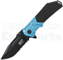 Smith & Wesson M&P Linerlock Knife Black/Blue SWMP12BLS