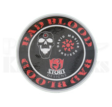 "Bad Blood Knives Logo 4"" Vinyl Decal Sticker"