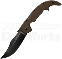 Cold Steel Espada Large FDE G10 Lockback Knife 62NGLVF