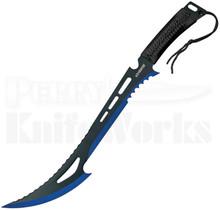"""Z-Hunter 24"""" Black & Blue Machete ZN-020BL"""