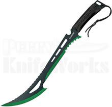 "Z-Hunter 24"" Black & Green Machete ZN-020BG"