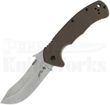 Kershaw CQC-11K Framelock Knife Brown 6031