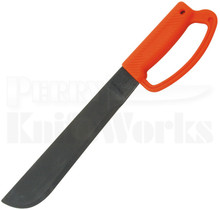 "Ontario Camper 12"" Orange D Handle Machete Knife 8512"