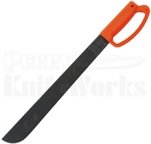 "Ontario Field 18"" Orange D Handle Machete Knife 8516"