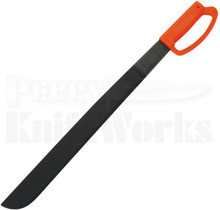 "Ontario Heavy Duty 22"" Orange D Handle Machete Knife 8520"
