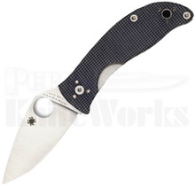 Spyderco Alcyone Linerlock Knife Gray G-10 C222GPGY