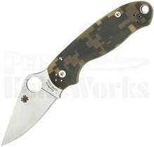 Spyderco Para 3 Compression Lock Knife Camo C223GPCMO