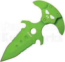 Z-Hunter Push Dagger Knife Toxic Green 030GN