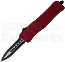 Cutting Edge Heretic Red D/A OTF Auto Knife Spear Point