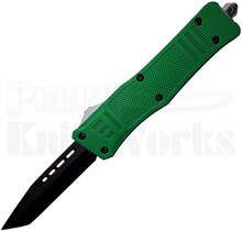 Cutting Edge Heretic Green D/A OTF Auto Knife Tanto
