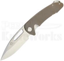 Medford Knife & Tool On Belay Framelock Knife Bronze