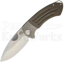 Medford Knife & Tool Theseus Framelock Knife Bronze