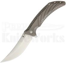Kizer Pinkerton Nomad Framelock Flipper Knife Ki4482A1