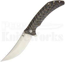 Kizer Pinkerton Nomad Framelock Flipper Knife Ki4482A2