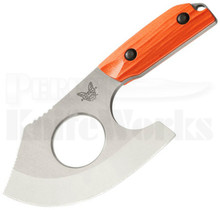 Benchmade Nestucca Cleaver Fixed Blade Knife Orange 15100-1