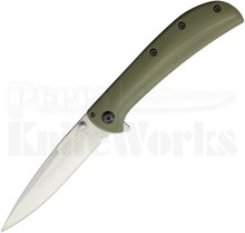 Kershaw Al Mar AM-3 Framelock Knife OD-Green 2335GRN
