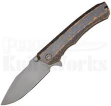 Heretic Knives Wraith Flipper Knife Tan Breakthrough Bead-Blast