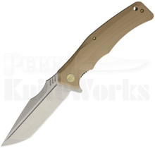 WE Knife Co. Thraex Linerlock Knife Tan G10 709D