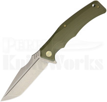 WE Knife Co. Thraex Linerlock Knife Green G10 709B