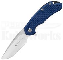 Steel Will Cutjack Mini Blue FRN Flipper Knife C22M-1BL