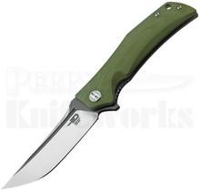 Bestech Knives Scimitar Knife Green G-10 BG05B-2