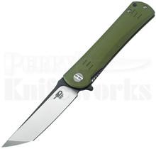 Bestech Knives Kendo Knife Green G-10 BG06B-2