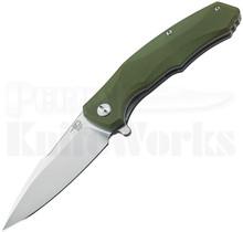 Bestech Knives Warwolf Knife Green G-10 BG04B