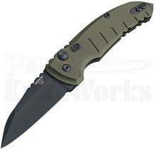 Hogue A01 Microswitch Automatic Knife Green 24101