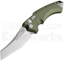 Hogue EX-A05 Wharncliffe Automatic Knife Green 34521
