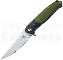 Bestech Knives Swordfish Linerlock Knife Green