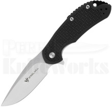 Steel Will Cutjack Black FRN Flipper Knife C22-1BK