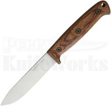 Ontario Bushcraft Field Fixed Blade Knife Walnut 8696