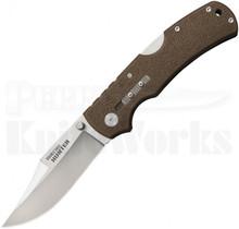 "Cold Steel Double Safe Hunter Tri-Ad Lock Knife FDE (4"" Satin) 23JA"