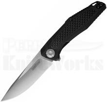 "Kershaw Atmos Liner Lock Knife G-10/Carbon Fiber (3"" Satin) 4037"