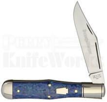 Schatt & Morgan Coke Bottle Knife Blue Sky Acrylic